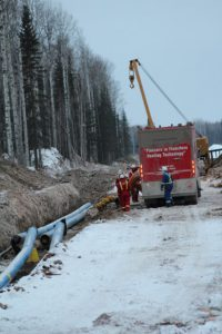 Pipeline Heating